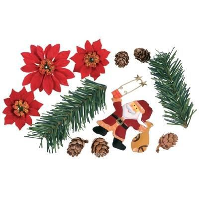 Kit deco no l sapin artificiel 12cm achat vente for Achat decoration de noel