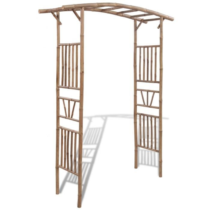 arche de jardin en bambou achat vente tonnelle barnum arche de jardin en bambou cdiscount. Black Bedroom Furniture Sets. Home Design Ideas