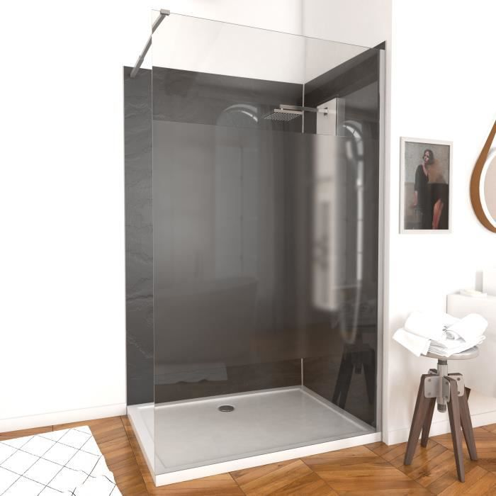aurlane paroi de douche parma 8 mm 140 cm d poli achat vente porte de douche aurlane paroi. Black Bedroom Furniture Sets. Home Design Ideas