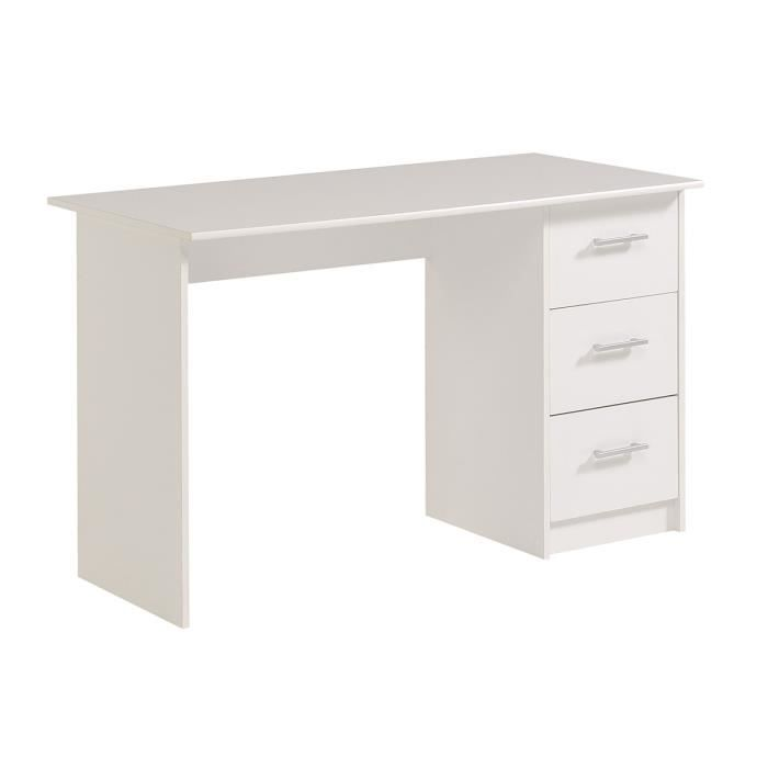 bureau enfant blanc klaus achat vente bureau bureau. Black Bedroom Furniture Sets. Home Design Ideas