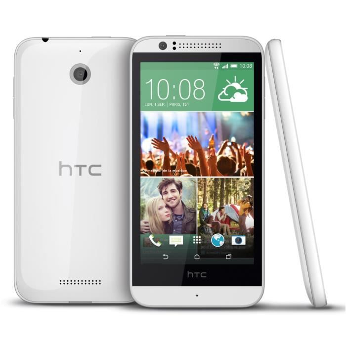 htc desire 510 blanc achat smartphone pas cher avis et. Black Bedroom Furniture Sets. Home Design Ideas