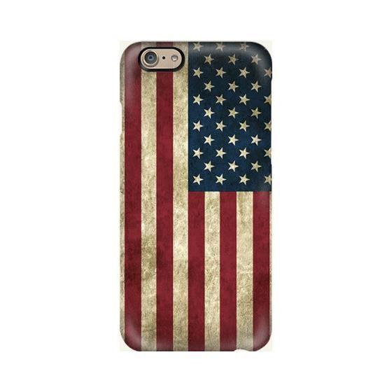 Coque iphone 6 drapeau americain bleu rouge blanc - Achat coque ...