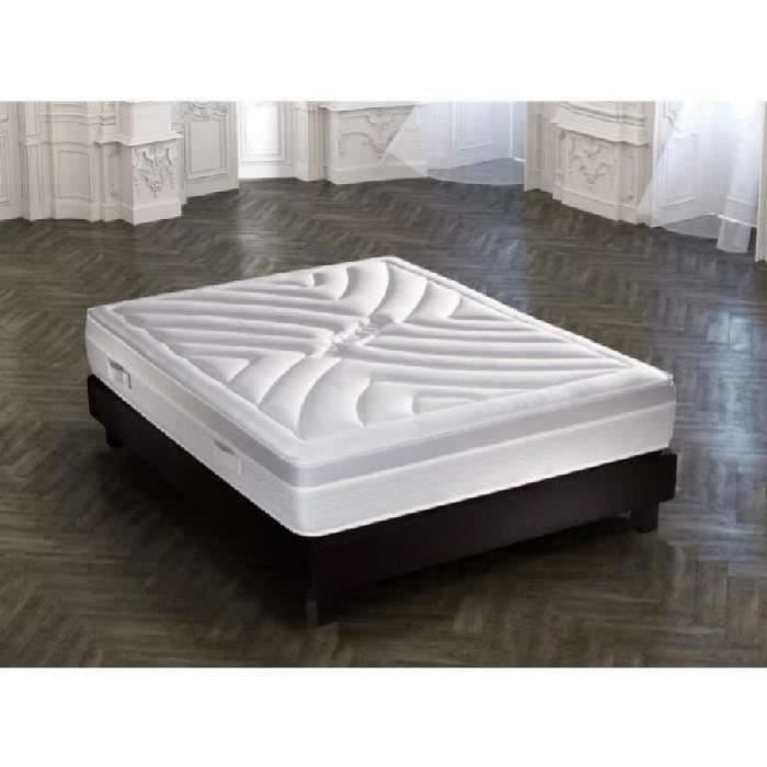 heroic ensemble matelas sommier 140x190 mousse ferme 30 50kg m3 tapissier 17 lattes. Black Bedroom Furniture Sets. Home Design Ideas