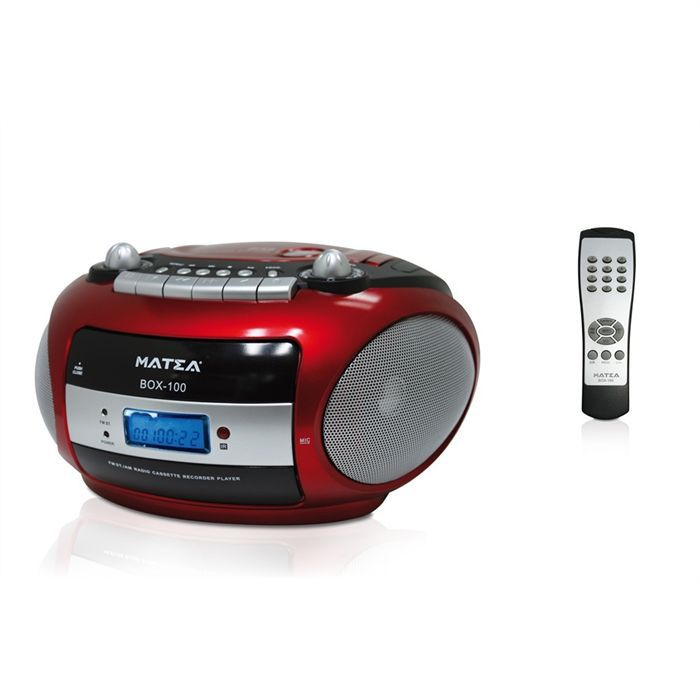 matea box100 radio cd cassette prix pas cher cdiscount. Black Bedroom Furniture Sets. Home Design Ideas