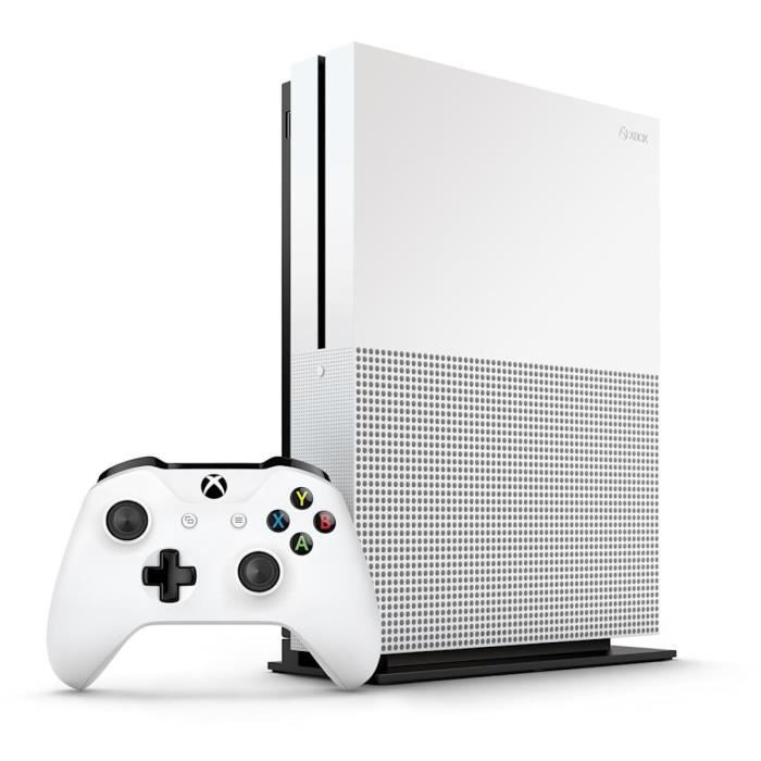 CONSOLE XBOX ONE Microsoft Xbox One S Console de jeux 4K HDR 1 To H