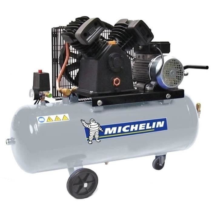 michelin compresseur avec cuve 100 litres 3 cv achat vente compresseur auto michelin. Black Bedroom Furniture Sets. Home Design Ideas
