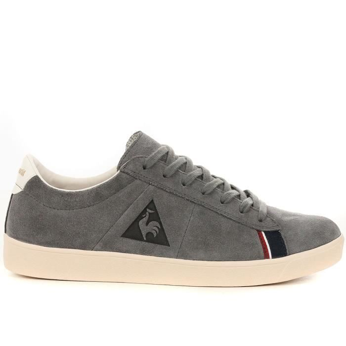 basket le coq sportif homme homme gris achat vente basket le coq sportif homme homme. Black Bedroom Furniture Sets. Home Design Ideas