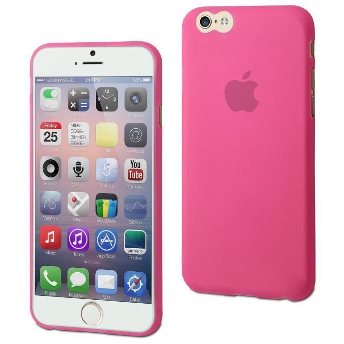 Muvit coque Thingel pour Apple iPhone 6/6S Rose