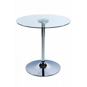 Table d 39 appoint roll transparente achat vente table for Table d appoint transparente