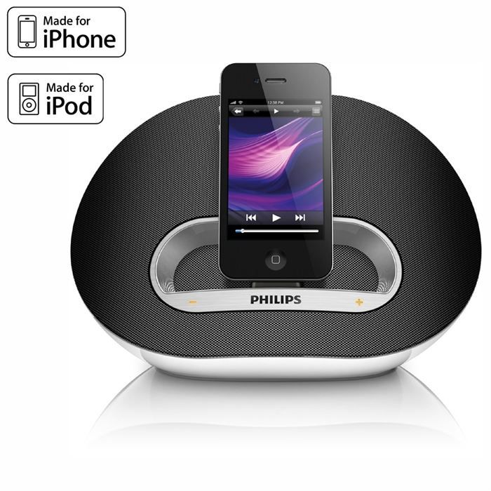 philips ds3100 station d 39 accueil ipod iphone station d 39 accueil prix pas cher cdiscount. Black Bedroom Furniture Sets. Home Design Ideas