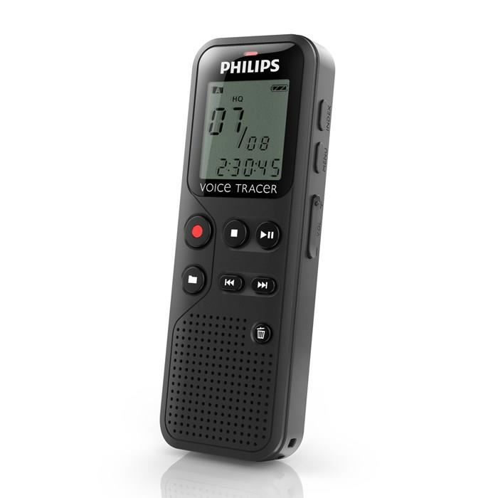 philips dvt1100 dictaphone num rique 4go dictaphone. Black Bedroom Furniture Sets. Home Design Ideas