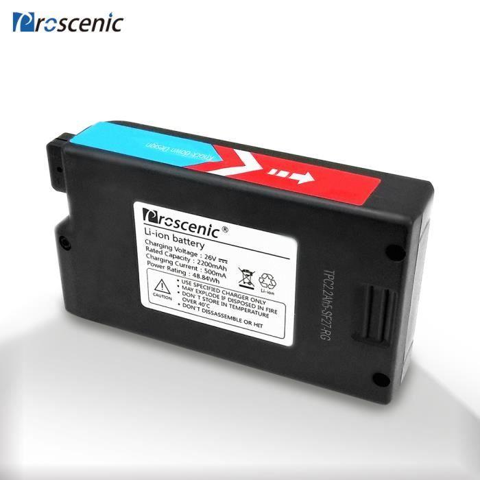 ASPIRATEUR BALAI Proscenic P8/P8 PLUS Batterie Supplémentaire