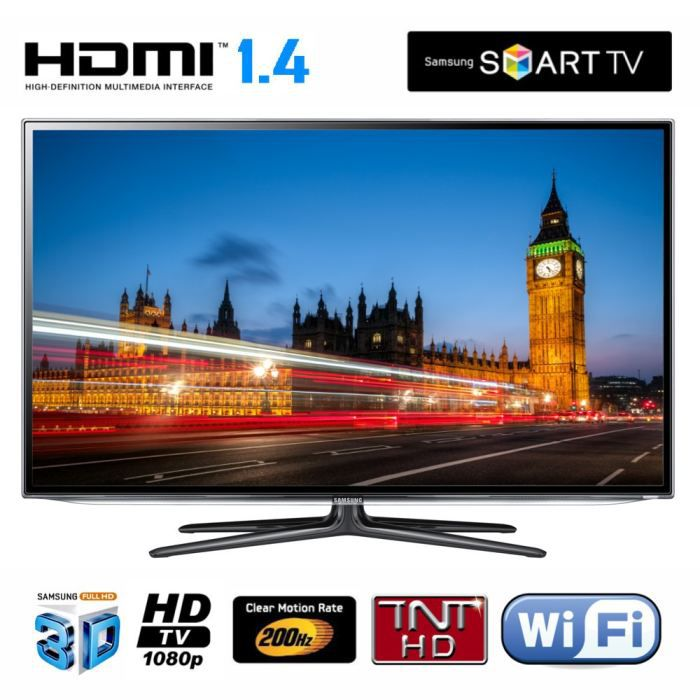 samsung ue55es6100 tv led 3d t l viseur led avis et prix pas cher cdiscount. Black Bedroom Furniture Sets. Home Design Ideas