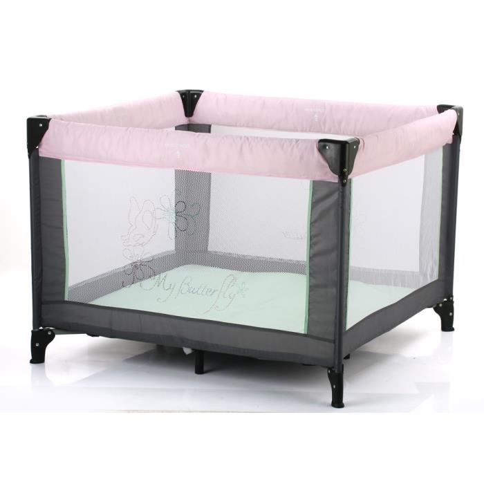 tendre a croquer lit parc dream n square rose rose. Black Bedroom Furniture Sets. Home Design Ideas