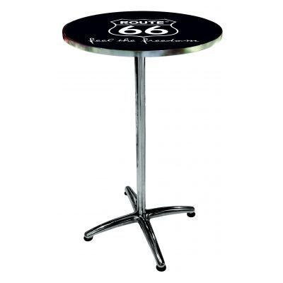 Table de bar route 66 achat vente mange debout table for Achat table bar