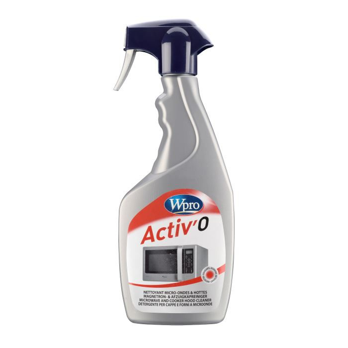 Wpro mwo100 spray nettoyant micro onde et hottes achat for Nettoyage four micro ondes