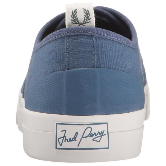 Fred Perry Barson Toile Sneaker Mode NQXPE 40 1-2