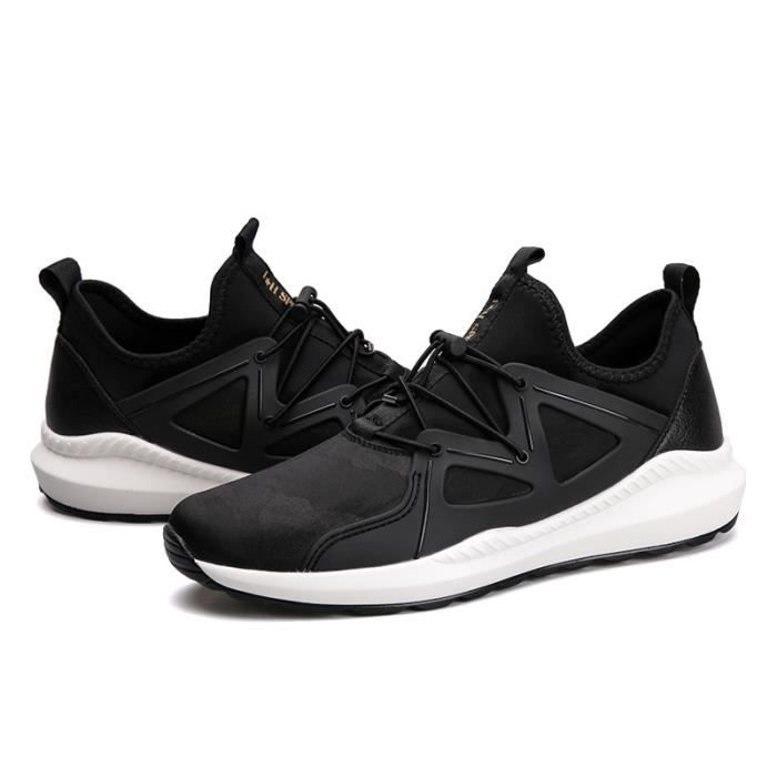 Baskets Homme Chaussure hiver Jogging Sport Ultra Léger Respirant Chaussures BWYS-XZ228Noir39
