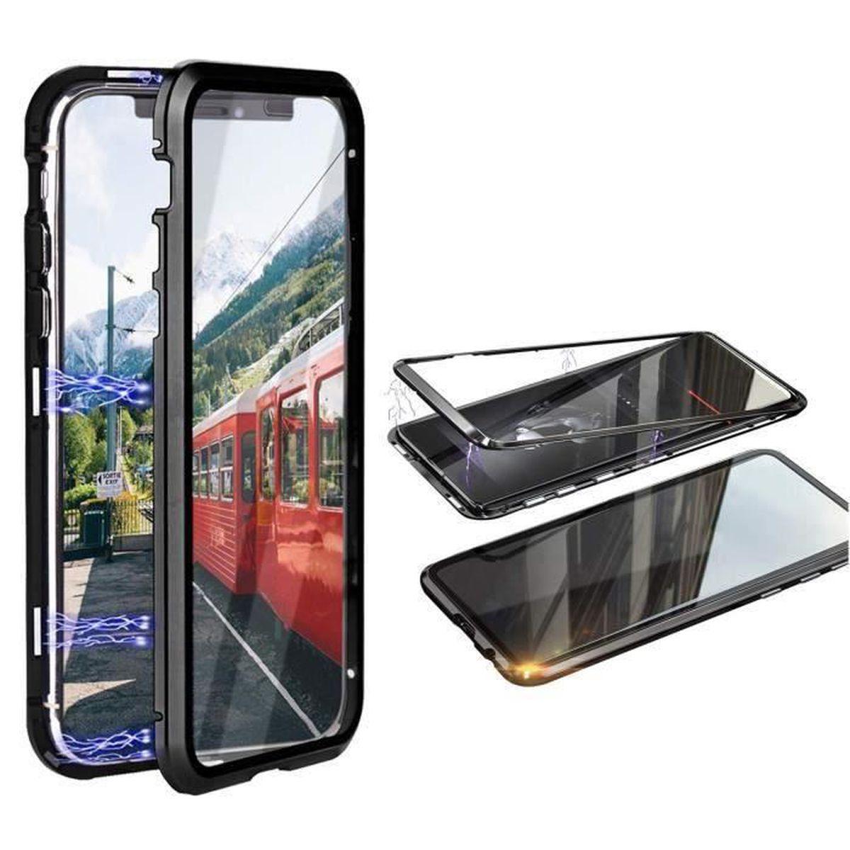 Coque iPhone 11 Housse Etui Magnétique – Noir