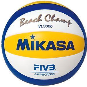 BALLON DE VOLLEY-BALL MIKASA Ballon de Beach Volley VLS300 Officiel Equi