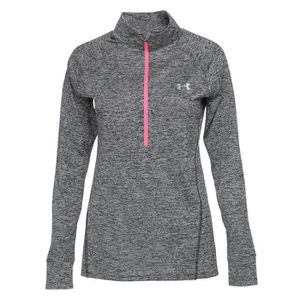 SWEAT-SHIRT DE SPORT UNDER ARMOUR Sweatshirt 1 2 zip Tech Twist - Femme ... 97f1eb8eb35