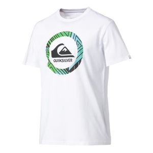 T-SHIRT MAILLOT DE SPORT QUIKSILVER T-shirt Homme Blanc