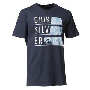 T-SHIRT QUIKSILVER FLAXTON WORD UP/WAIKU T-shirt Manches C