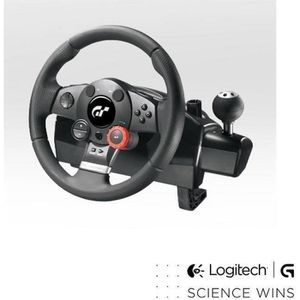JOYSTICK - MANETTE Logitech volant de course Driving Force GT PC-PS3