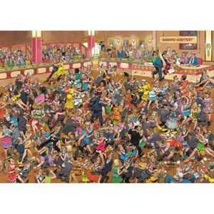 CASSE-TÊTE Crowd Pleasers Ballroom Dancing Puzzle 1000 Pieces