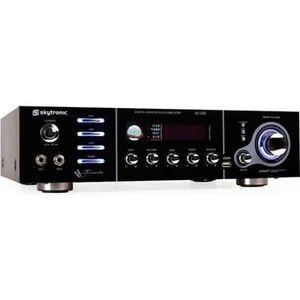 AMPLIFICATEUR HIFI AMPLIFICATEUR AMPLI PA 5 CANAUX KARAOKE USP MP3 2x