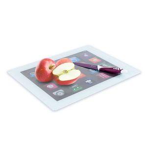 PLANCHE A DÉCOUPER Planche à Découper en Verre iPad