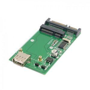 BOITIER POUR COMPOSANT Chenyang Combo mSATA Solid State Disk SSD à SATA 2