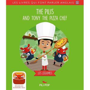 LITTÉRATURE ÉTRANGÈRE Livre - the Pilis and Tony the pizza chef