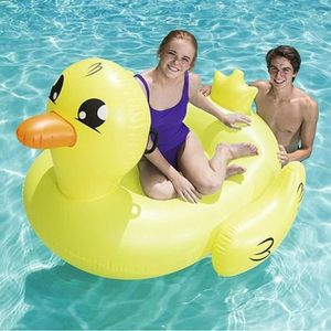 JEUX DE PISCINE BESTWAY Canard Gonflable Fashion 188 cm x 127cm av