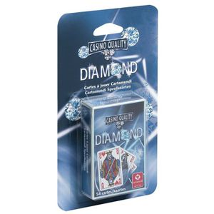 CARTES DE JEU DIAMOND - Jeu de 54 cartes - Blister