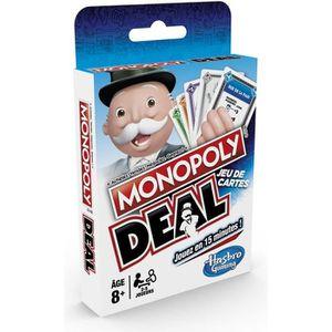 JEU SOCIÉTÉ - PLATEAU Monopoly Deal - Jeu de societe de Voyage - Jeu de