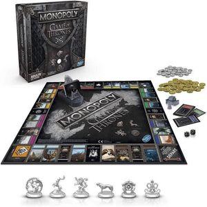 JEU SOCIÉTÉ - PLATEAU Monopoly : Edition Collector Games of Thrones