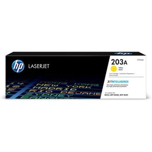 TONER HP 203A toner LaserJet jaune authentique (CF542A)