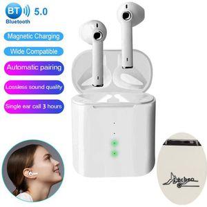 CASQUE - ÉCOUTEURS Lecheo Ecouteur Bluetooth 5.0 Écouteur sans Fil TW