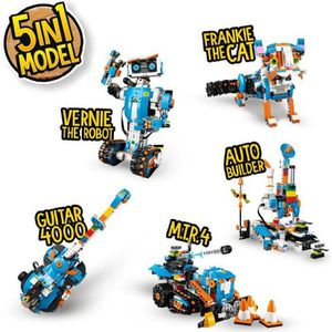 ASSEMBLAGE CONSTRUCTION LEGO® Boost 17101 Mes premières Constructions Robo