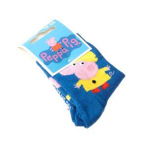 Garçons Bleu Chaussons Chaussettes Avec Peppa Pig George et G