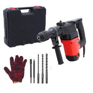 MARTEAU A PIQUER Kit Marteau Perforateur 850W - Coffret de Rangemen