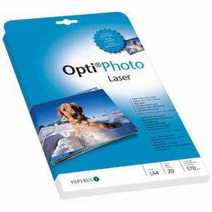 PAPIER PHOTO PAPYRUS Papier photo pour laser Opti, format A4, 1