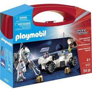 UNIVERS MINIATURE PLAYMOBIL 9101 - Sapce - Valisette Astronaute