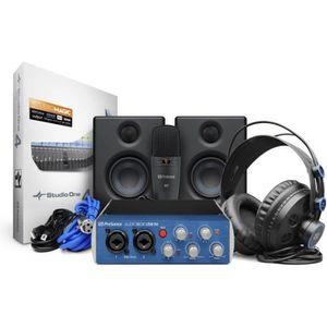 CARTE SON ET DSP PreSonus ABOX96STUDIO-ULT1 - Pack AudioBox 96 Stud