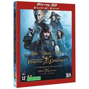 BLU-RAY FILM Pirates des Caraïbes La vengeance de Salazar 3D