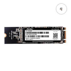 DISQUE DUR SSD Zheino Disque dur interne SSD M.2 2280 256 Go msat