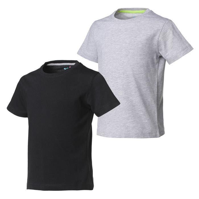 """Taille Plus Coton v-Cou Décontracté T-shirt//haut ** NOIR ** BUSTE Jusqu/'À 52/"""" L-XL-XXL"""