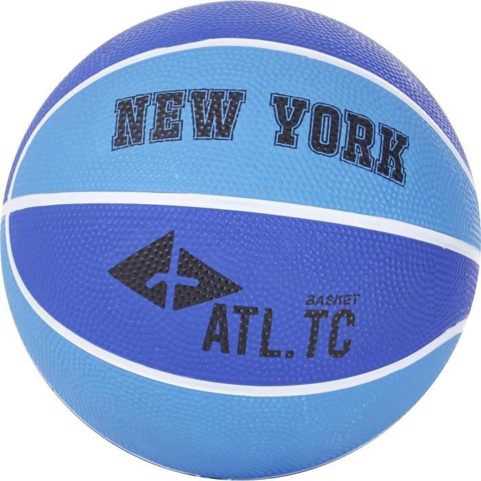 ATHLI-TECH Ballon de Basket New York - Bleu