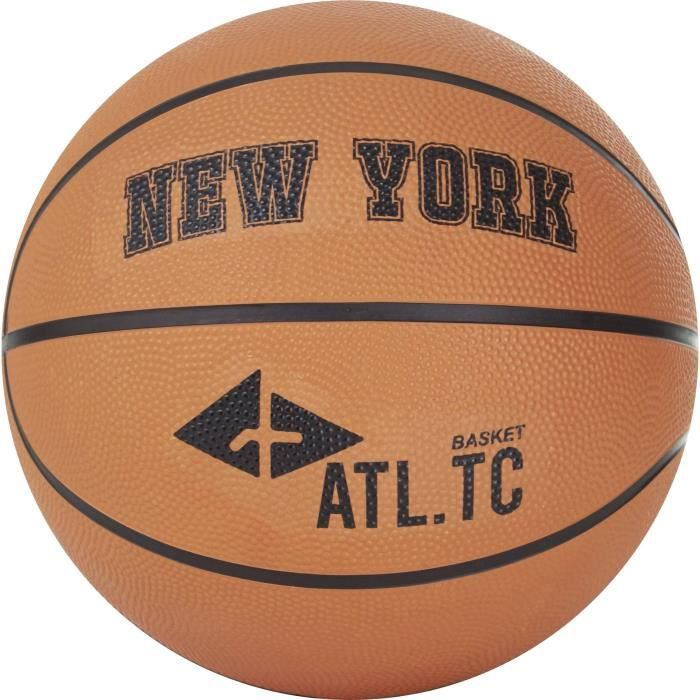 ATHLI-TECH Ballon de Basket New York - Orange
